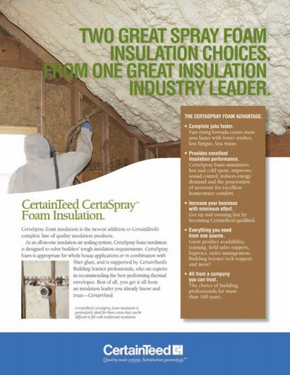 Certaspray Closed Cell Foam Spray Foam Insulation Insulation Spray Foam Spray Foam Insulation Building Insulation