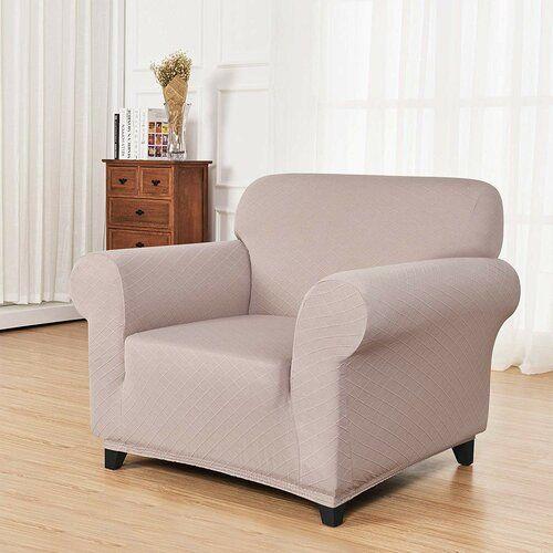 Schonbezug Box Fur Sessel Ophelia Co Farbe Sand Armchair