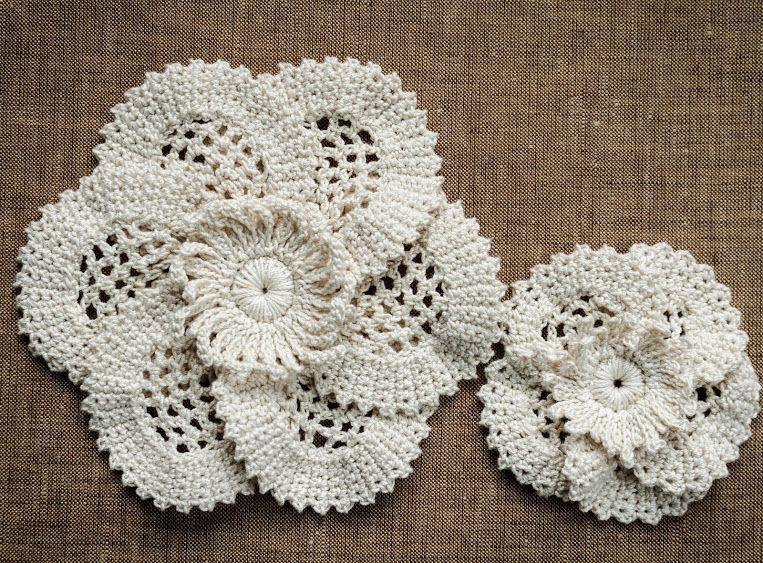 Crochet Sobresaliente: Patrones | flores crochet- crocheted flowers ...