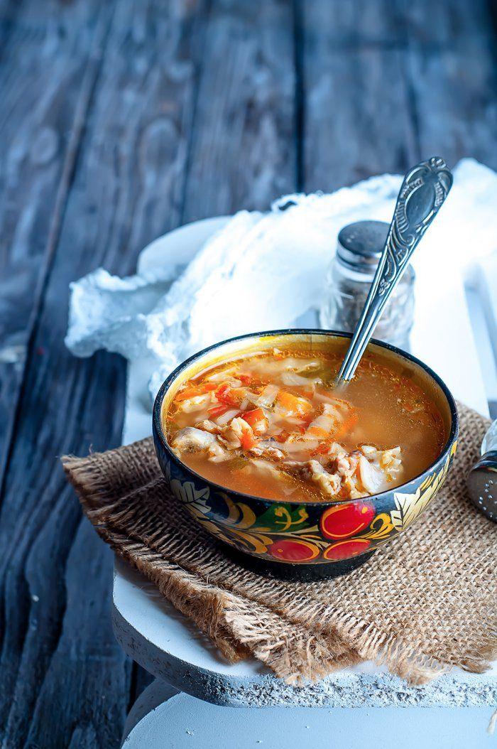 Soupe umami qui réchauffe | Recette | Soupes, Tofu et Recette