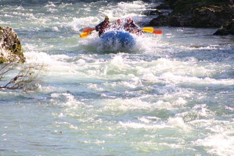 Qué vienen los del Rafting!