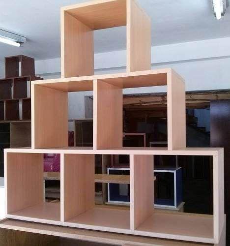 biblioteca piramide estanteria repisa melamina  985271ee0bd8