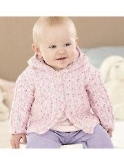 35562d4bc544 Pin by Annie s Catalog on Baby Jacket   Cardigan Knitting Patterns ...