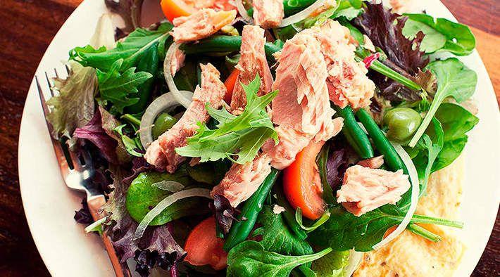 Thunfisch salat low carb