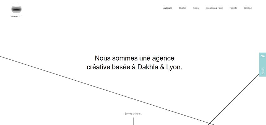 12 Fantastic Examples Of Incorporating Lines In Web Design Web Design Line Web Line
