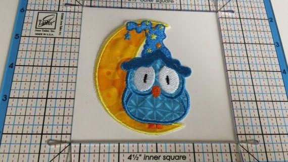 Owl Patch by vintageYv on Etsy, $5.00