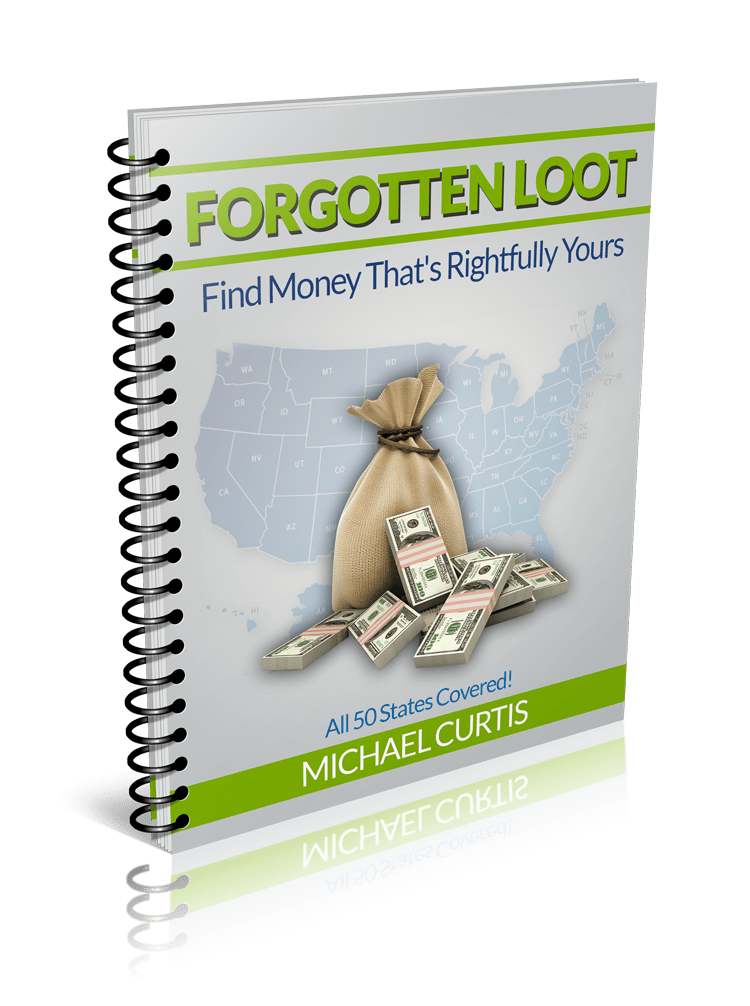 Click me to download this guide. Unclaimed money, Lost