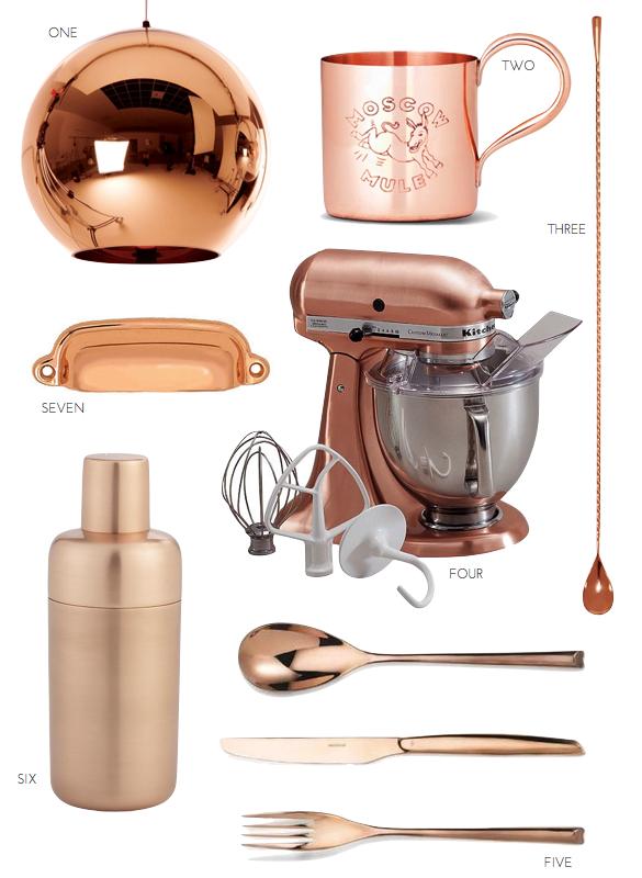 The Copper Kitchen Trend Copper Kitchen Copper Kitchen Accessories Kitchen Trends