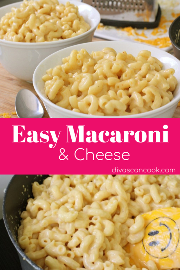 Easy Macaroni And Cheese Recipe With Images Simple Macaroni