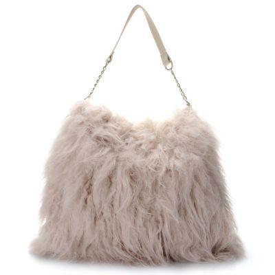 d812f9e3970f Donna Salyers  Fabulous-Furs Faux Fur   Faux Leather Weekender Bag ...