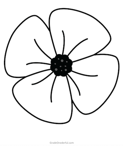 Remembrance Day Colouring Book: Free » Grade Onederful