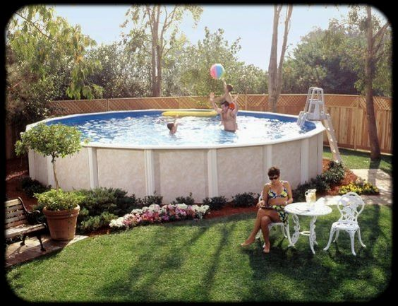 24 Above Ground Pools youll want in Your Backyard
