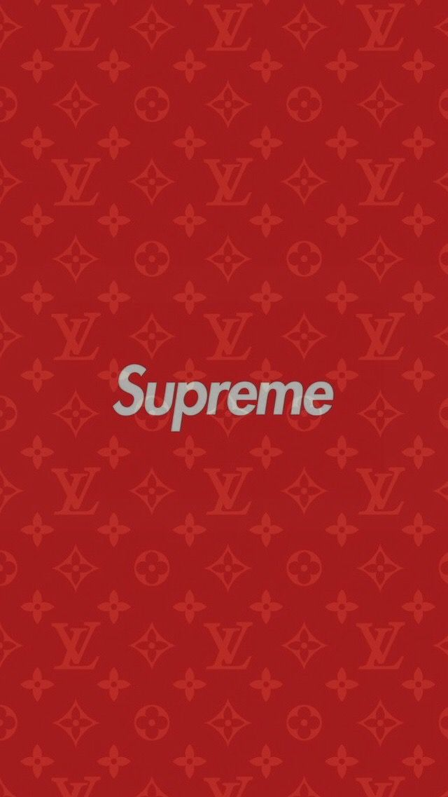 Supreme X Louis Vuitton Iphone 7 Plus Wallpaper Supreme