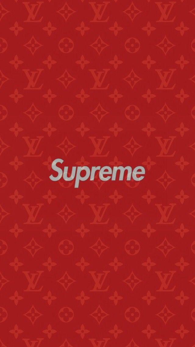 Louis Vuitton Supreme Wallpaper Iphone 7 Floweryred2 Com
