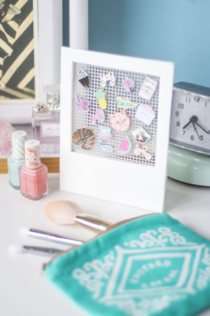 Make it: Polaroid Pin Frame | Kleine bilderrahmen, Bilderrahmen und ...