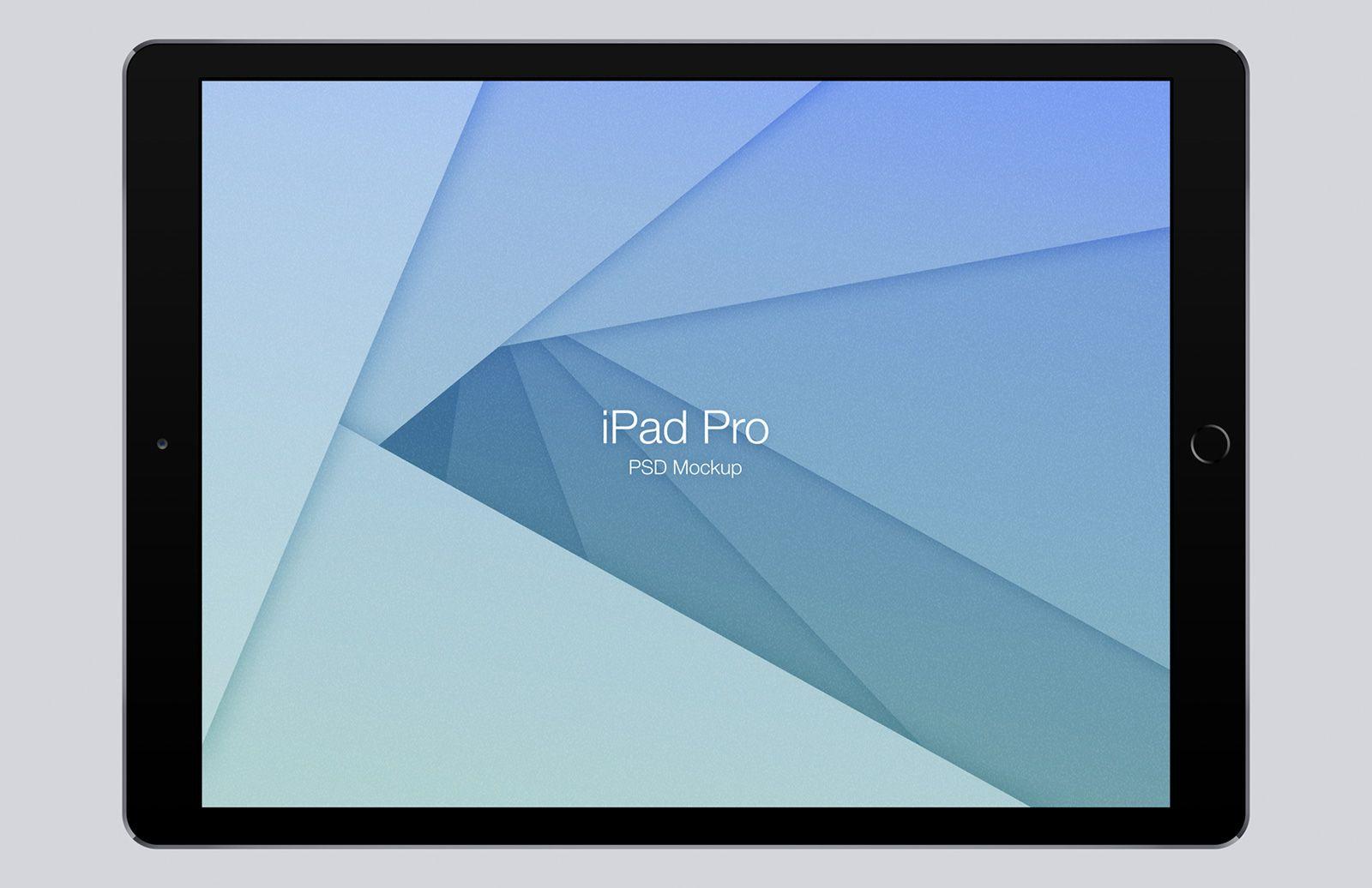 Ipad Pro Mockup Psd App Interface Ipad Pro Mobile Application Design