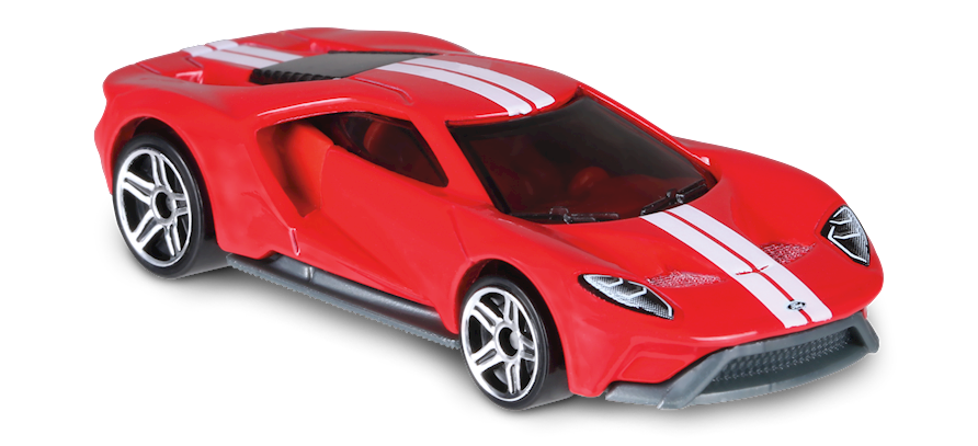 17 Ford Gt In Red Hw Exotics Car Collector Hot Wheels Autos