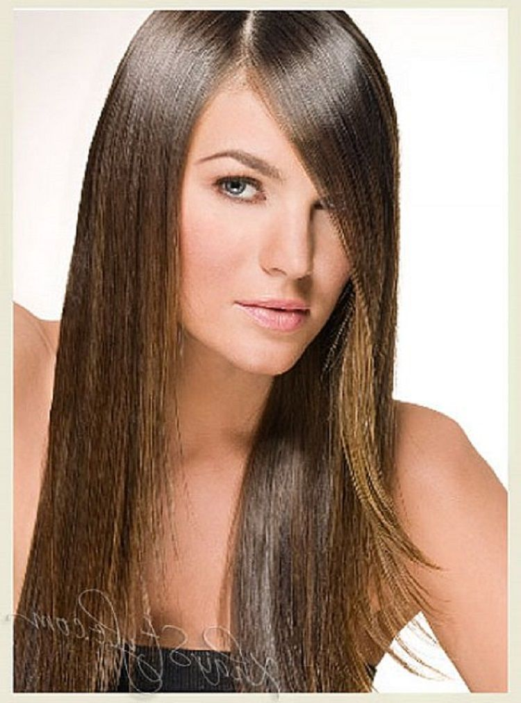 easy hairstyles for long straight hair 2013  hair styles