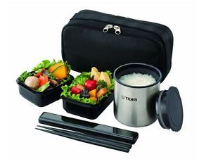 86c5aecaadf8 Thermos Lunch Box Tiger Vacuum Stainless Steel Bento Bottle LWY-R024 ...