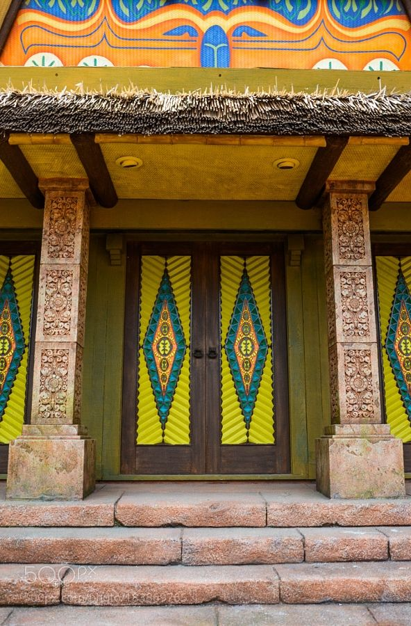 Popular on 500px : Tribal Doors by chriswtaylor