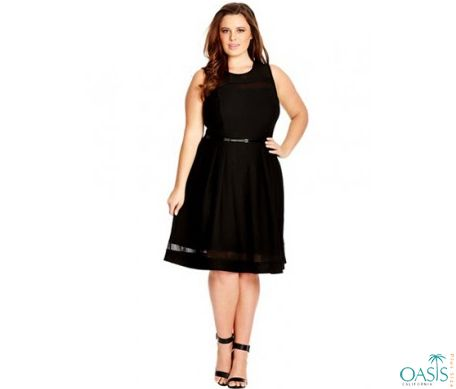 dress up in the preppy plus size swing dress or skirt adorned with