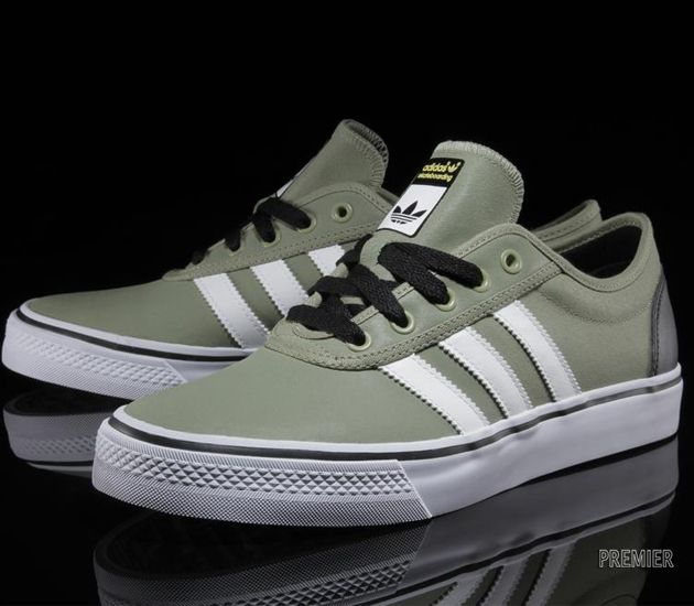Adidas Adi Ease Satelite Green Running White Black Adidas