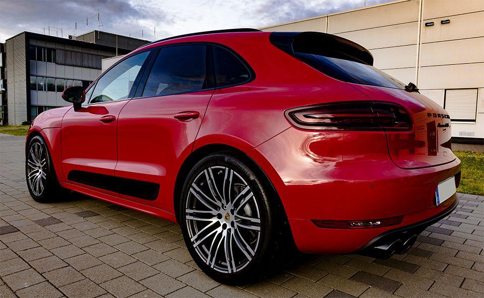 2017 Porsche Macan Gts Carmine Red 21 Turbo Wheel Porsche