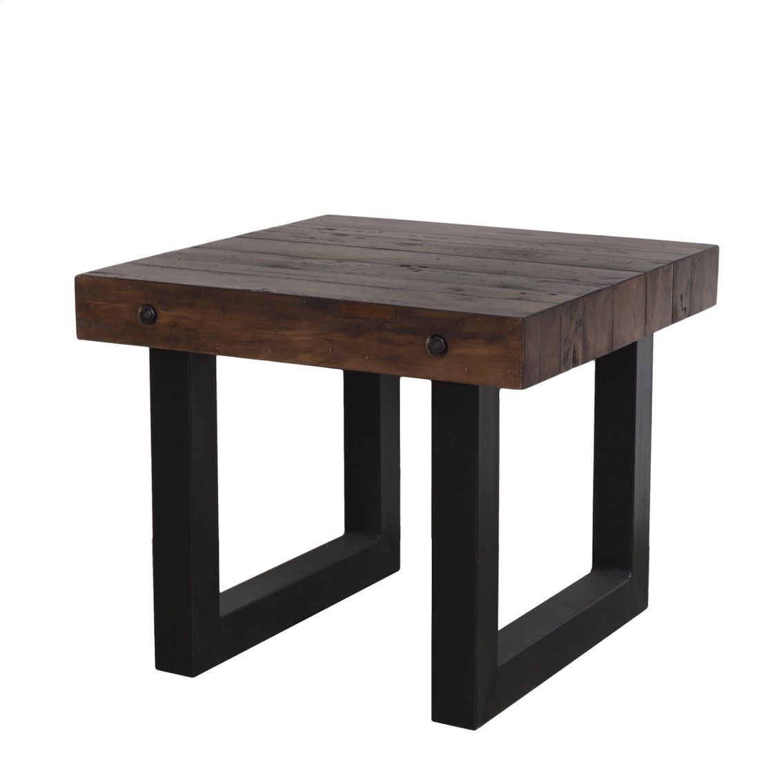 End table from the new york collection made from reclaimed pine end table from the new york collection made from reclaimed pine with a coffee bean stain geotapseo Image collections