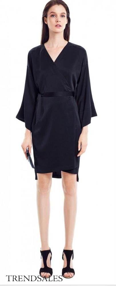 4ac97291ad3f Filippa K Kimono | Love | Dresses, Kimono dress, Satin kimono