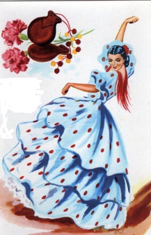 Gitane Gitane Flamenco Dessin