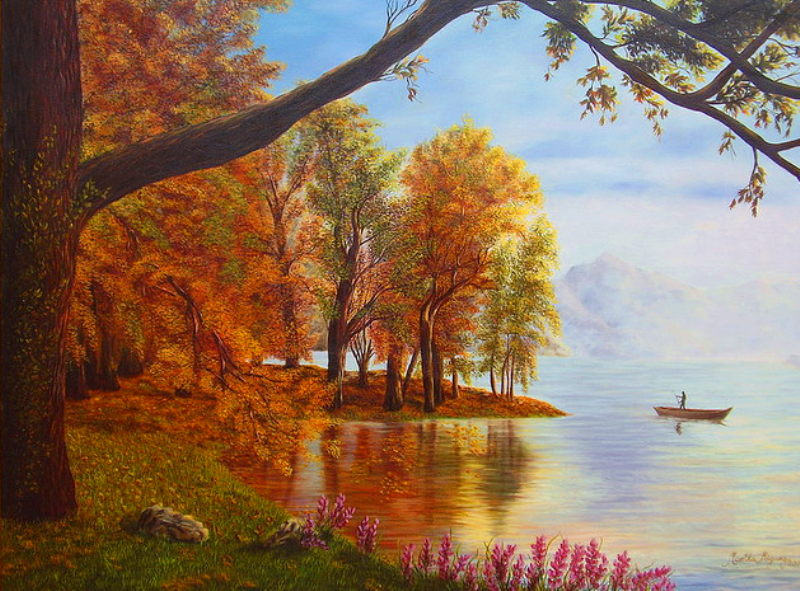 Pinturas & Cuadros: Paisajes Al Oleo