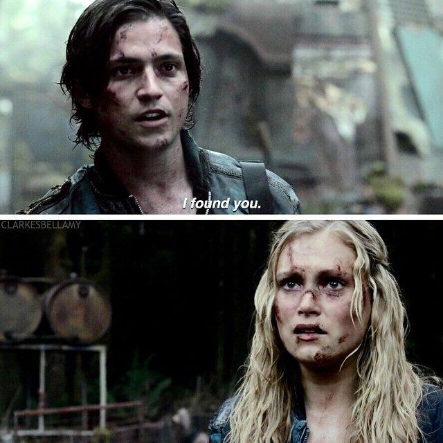 "#The100 2x05 ""Human Trials"" - Finn and Clarke"
