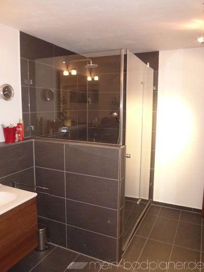 Negativbeispiel Entweder Wände Komplett Schwarz Fliesen Oder Gar - Badezimmer nicht komplett fliesen