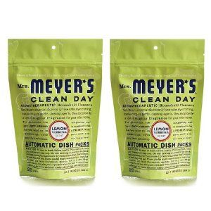 Mrs Meyers Clean Day Automatic Dishwashing Soap Packs Lemon Verbena 12 7 Oz 2 Pack By Mrs Meyers Cl Best Dishwasher Detergent Cleaning Day Best Dishwasher