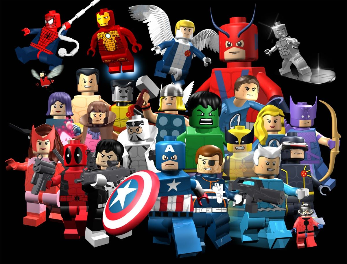 Comic Book Army Trailer De Lego Marvel Superheroes Lego Superheroes La Lego Pelicula Superheroes Marvel