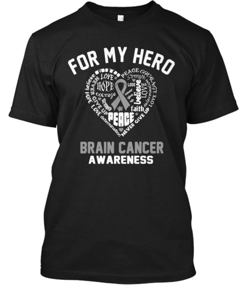 Brain Cancer Awareness Hoodies