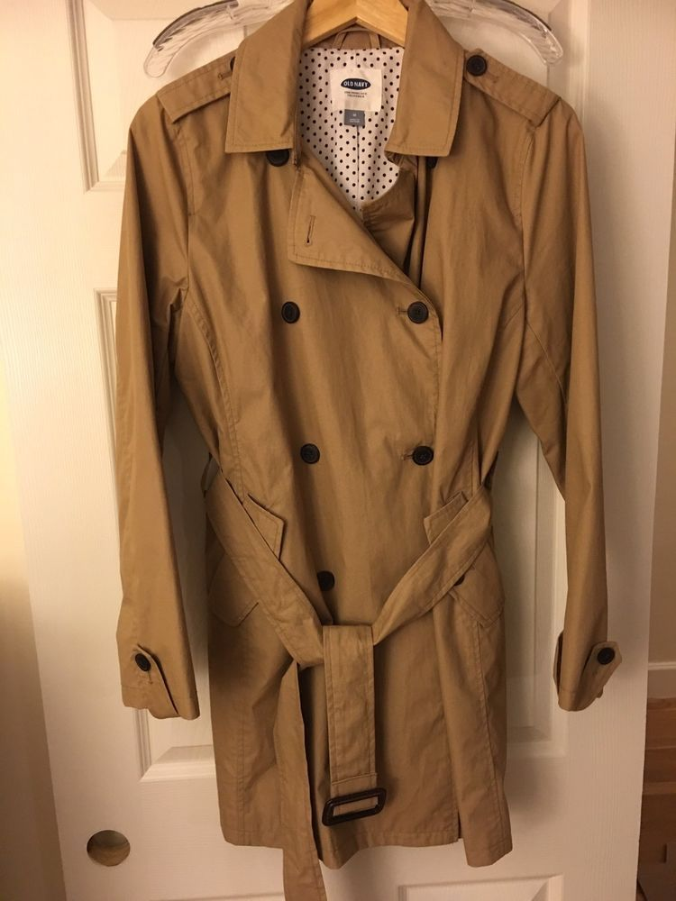 1840b1817e1 NEW Womens Old Navy Trench Coat - Sz M   34.00 End Date  Wednesday  Oct-3-2018 19 11 50 PDT Buy It Now for only   34.00 Buy It Now