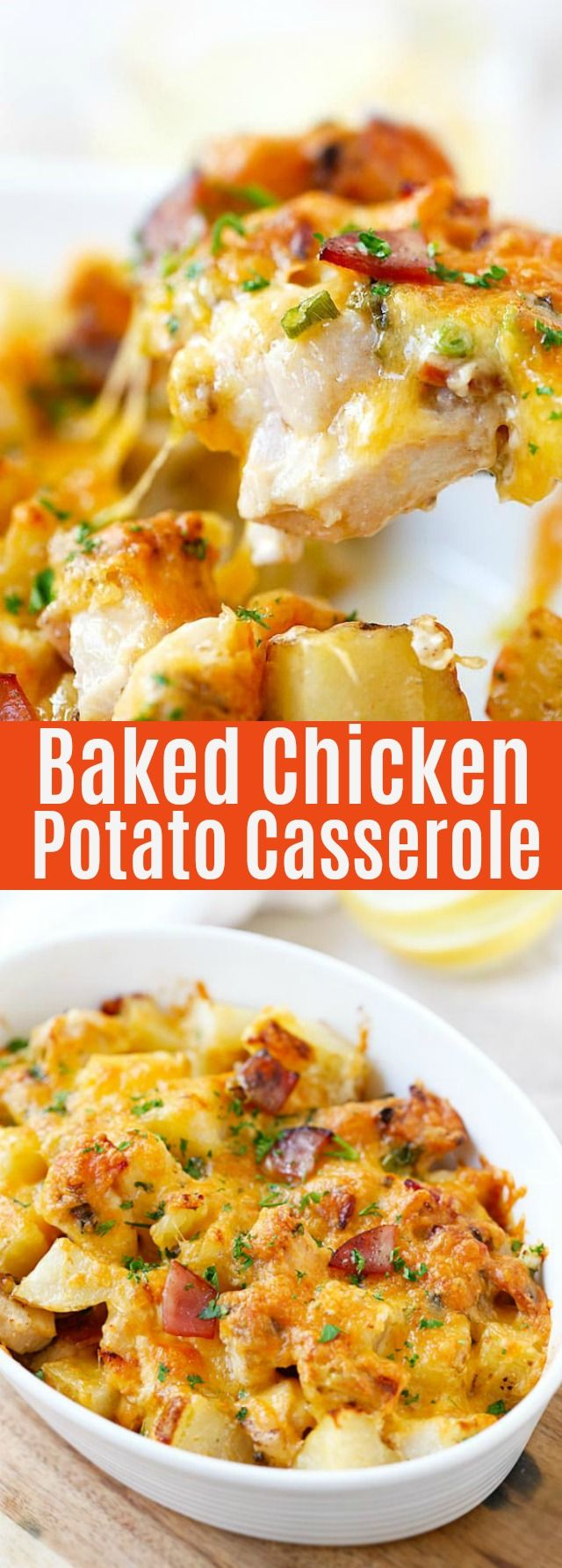 Baked Chicken and Potato Casserole images