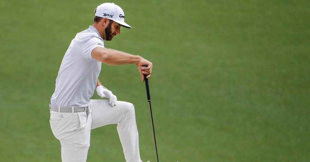 Dustin Johnson Hurts His Back in a Fall, but Still Hopes to Play