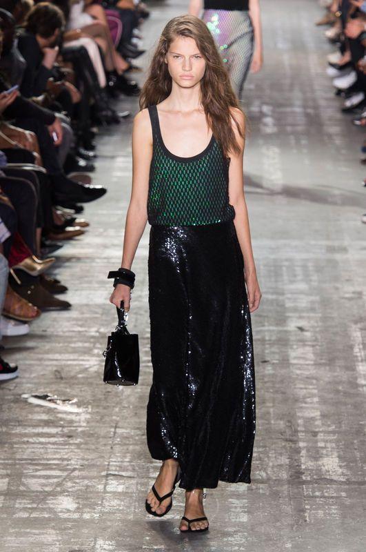 Alexander Wang Wiosna Lato 2017 Fashion Week Fashion New York Fashion Week
