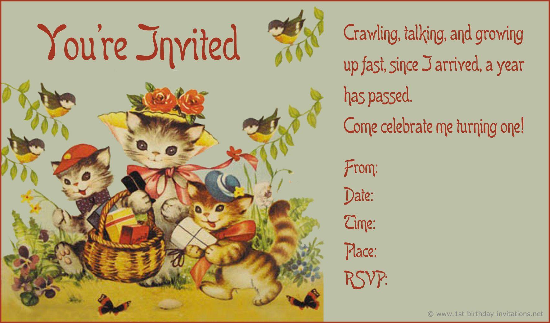 Vintage birthday invitations templates google zoeken prenten vintage birthday invitations templates google zoeken filmwisefo