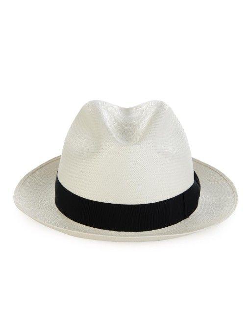 a8ee78d8771 Borsalino Panama straw hat Mens Straw Hats