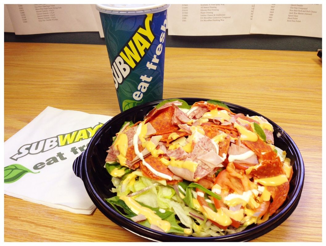 Eating Out? Low Carb? No Problem Subway Makes Excellent Low Carb Salads