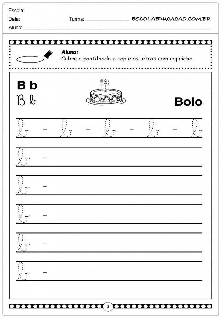 Alfabeto Cursivo Atividades Letra E Alfabeto Cursivo