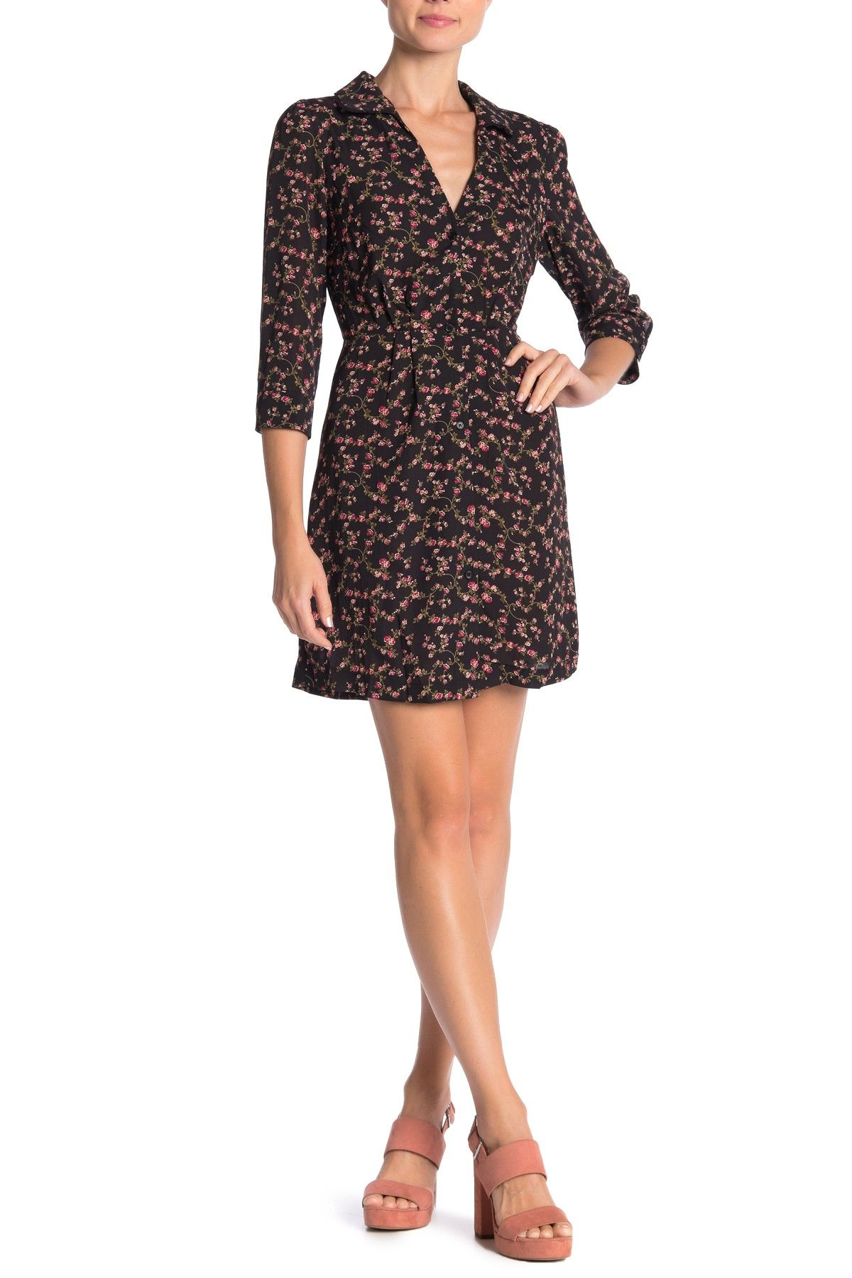 renamed apparel Geneva Floral Mini Dress Mini dress