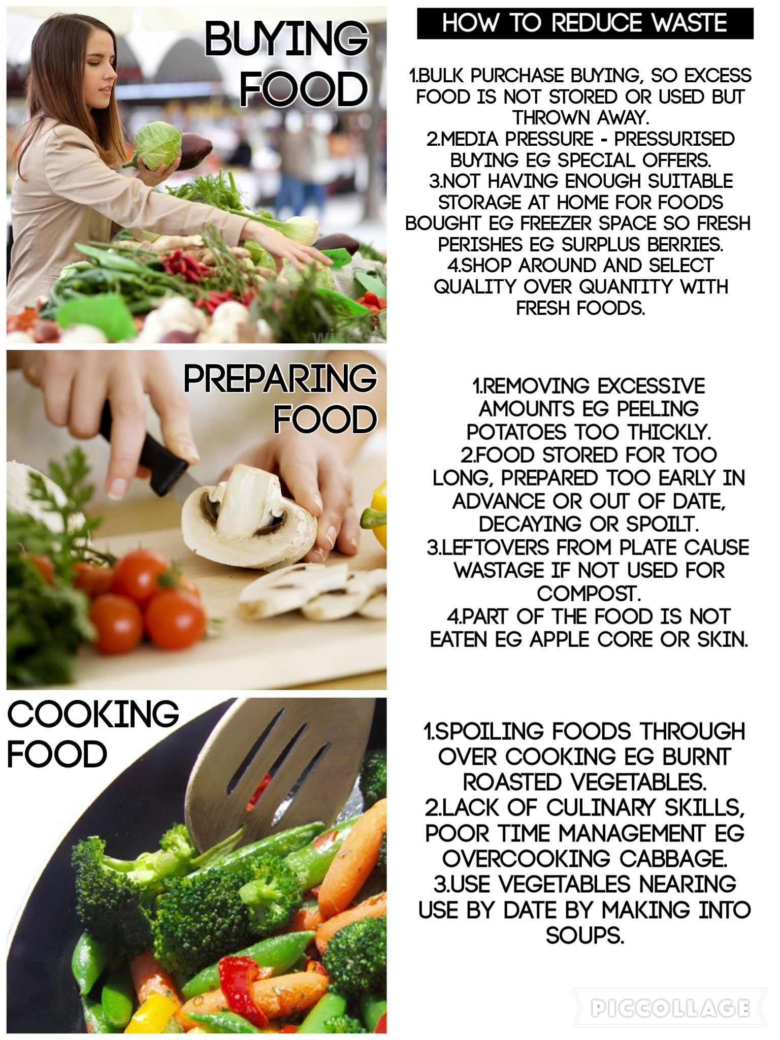 How to reduce food waste when buying preparing cooking aqa gcse how to reduce food waste when buying preparing cooking aqa gcse food preparation nutrition specimen paper 2015 forumfinder Images