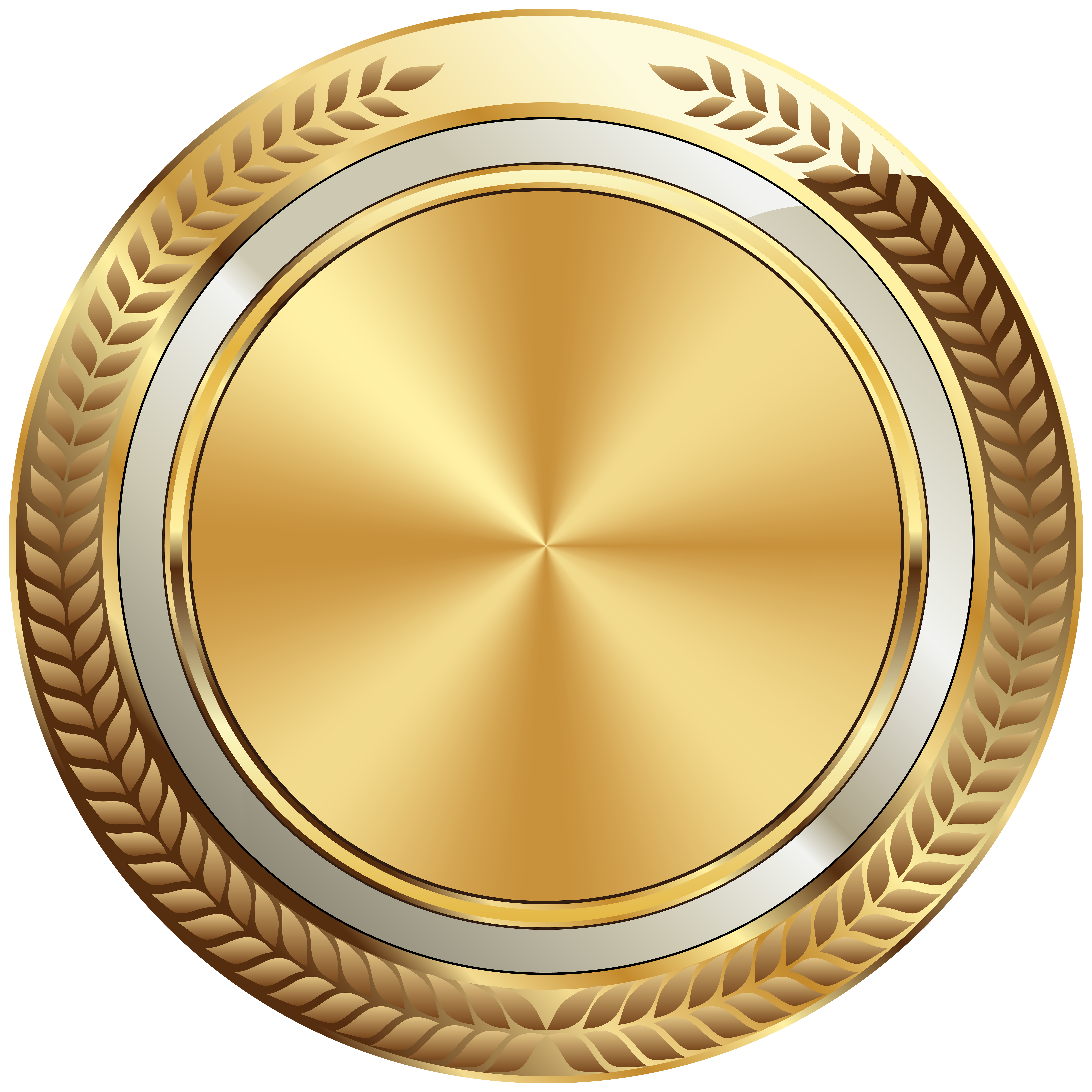 Gold Seal Badge Template Transparent Image Poster