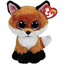 28a60dcee4f For Elise  Ty Beanie Boos 6-Inch Slick Brown Fox Plush