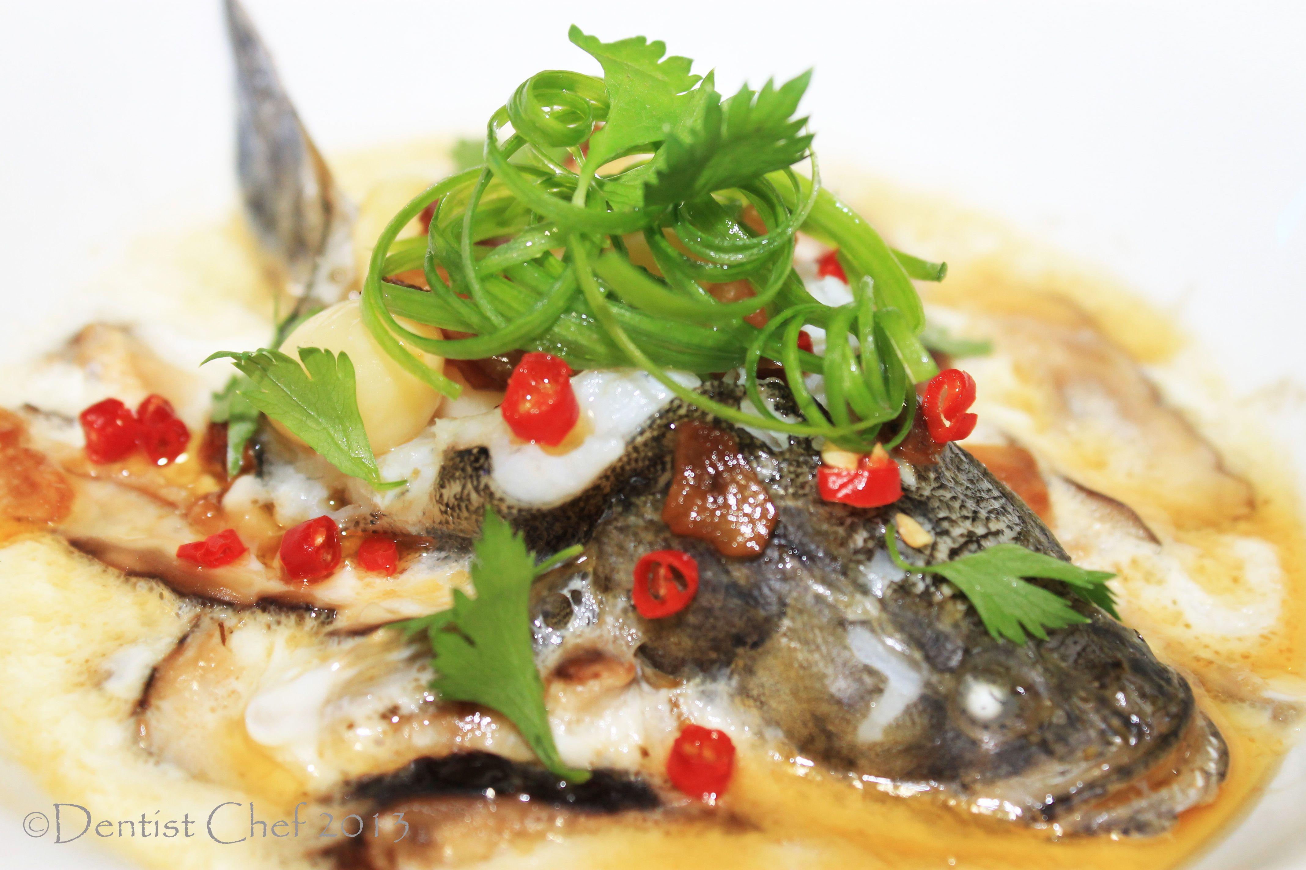 Hongkong Style Steamed Fish With Egg White And Ginkgo Biloba Nuts Kacang Ayu 1kg By Bali Recipe Mushroom Ikan Steam Kukus Malas