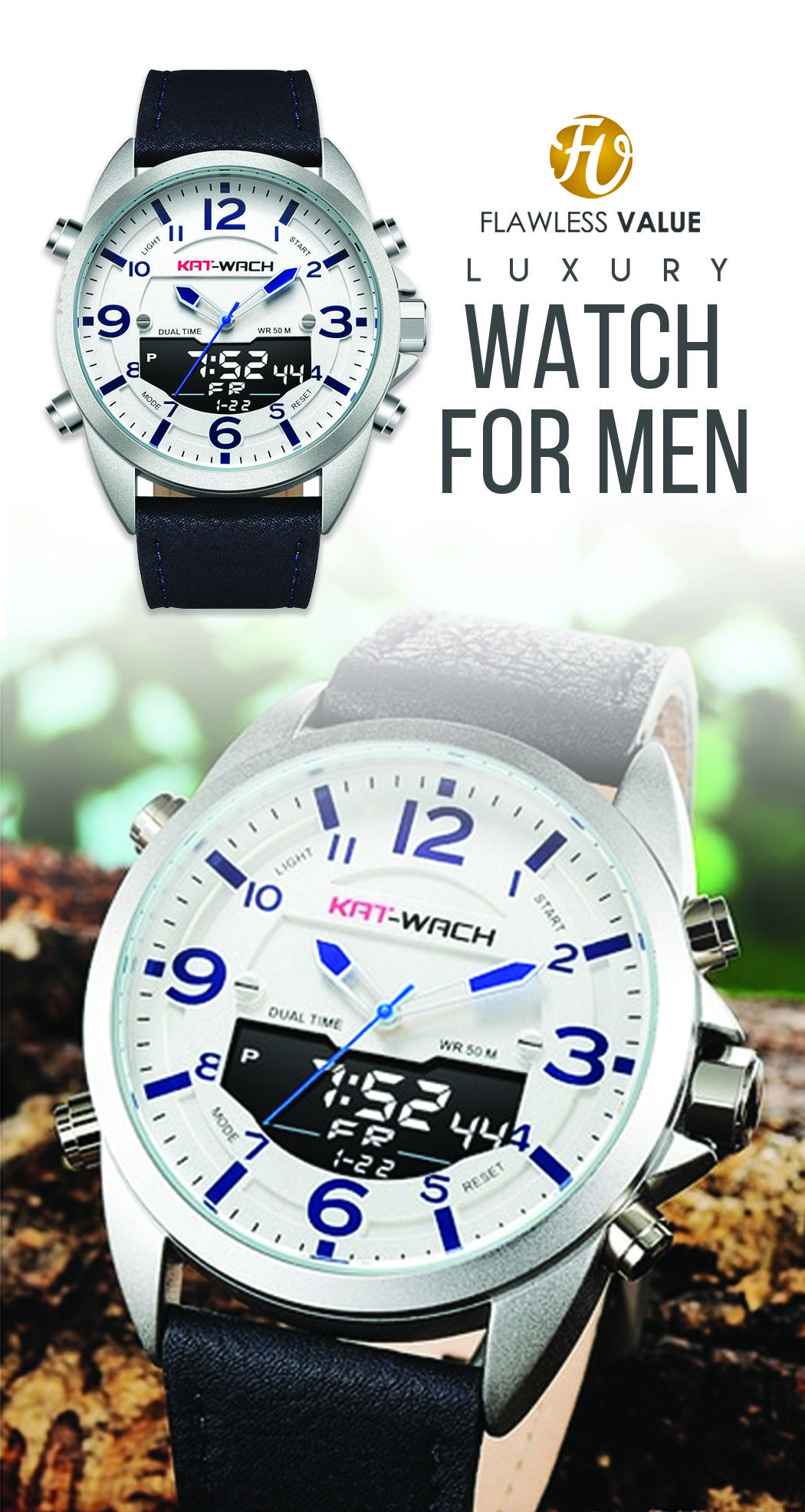 Montre de Sport de luxe pour hommes de marque KAT WACH